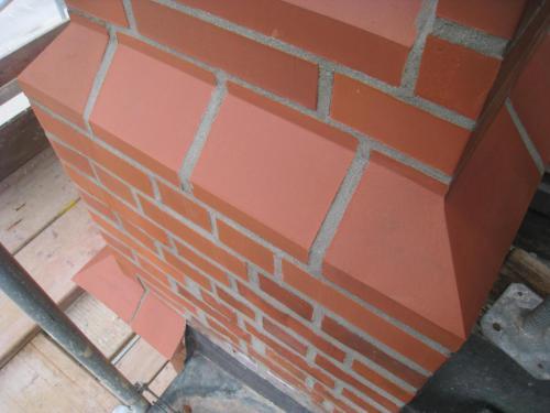 Sanierung Seitenturm SW Fertigstellung