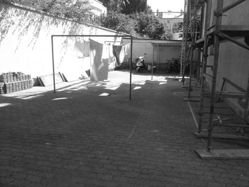 Fasaneristr. 3c Hof vor Sanierung