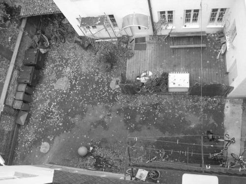 Pettenkoferstr. vor der Sanierung Hof