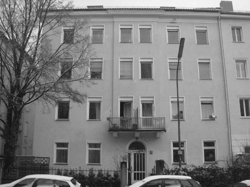 Pettenkoferstr. vor der Sanierung VG Strasse