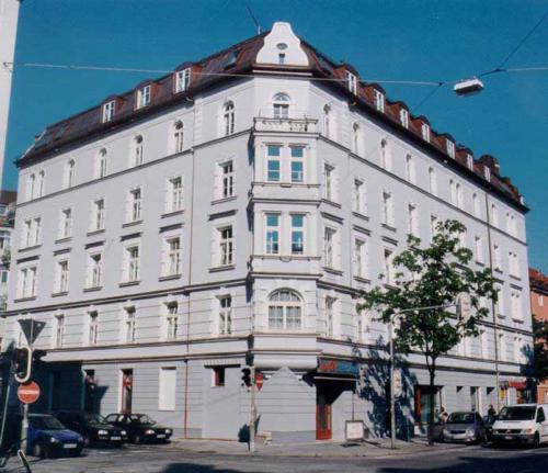 Rosenheimer Strasse 62+64 Ansicht Metzstrasse