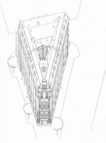 Rosenheimer Strasse 62+64 Isometrie