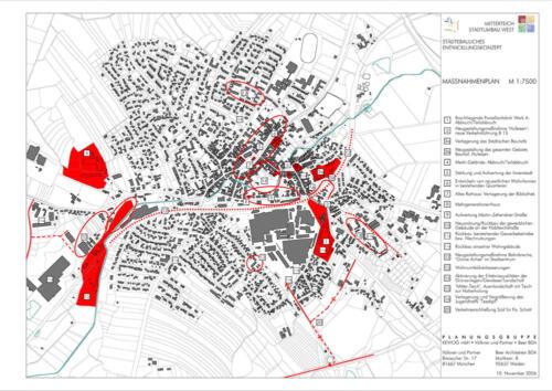 Staedtebauliches Entwicklungskonzept  Massnahmenplan