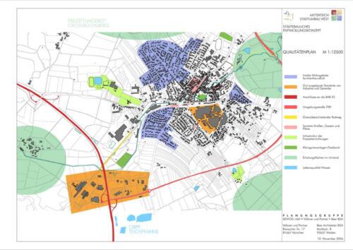 Staedtebauliches Entwicklungskonzept  Qualitaetenplan