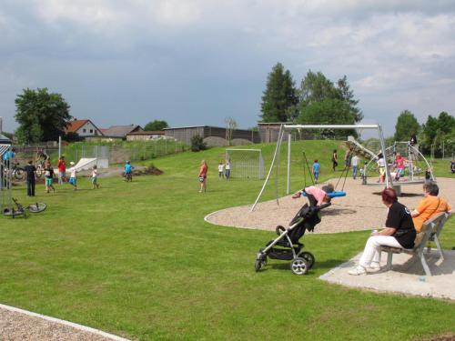 Fit- und Funpark Ballspiel