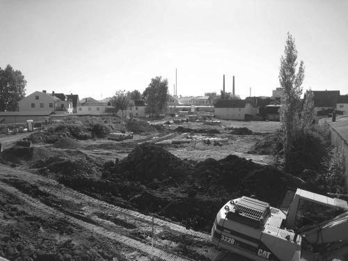 Fit- und Funpark Baustelle