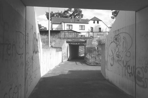 Fit- und Funpark Unterfuehrung vorher