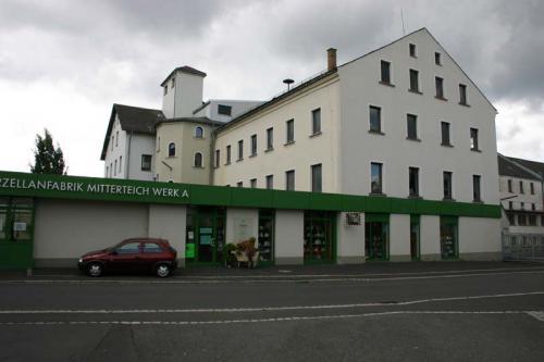 Bestand Porzellanfabrik bis 2007 - Buerobau