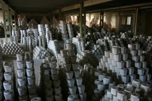 Bestand Porzellanfabrik bis 2007 - Gipsformen