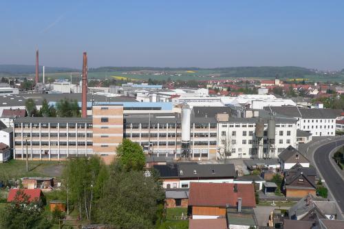Bestand Porzellanfabrik bis 2007 - Luftbild