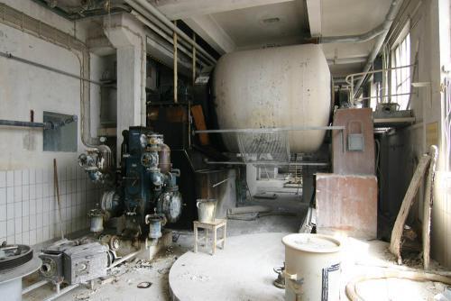Bestand Porzellanfabrik bis 2007 - Massemuehle