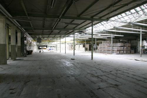 Bestand Porzellanfabrik bis 2007 - Ofenhalle