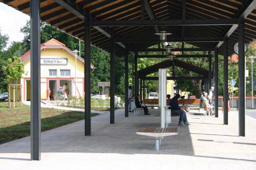 Busbahnhof Wartehalle