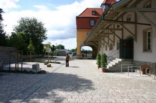 Jugend- und Kultur-Speicher Innenhof