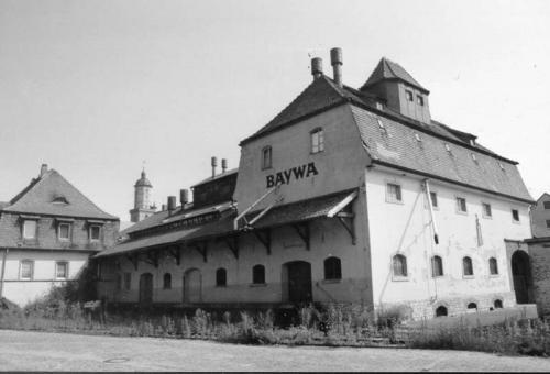 Jugend- und Kultur-Speicher vor der Sanierung: Baywa