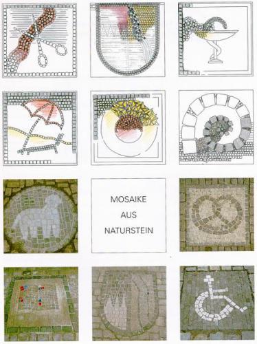 Detailplanung Mosaike Naturstein