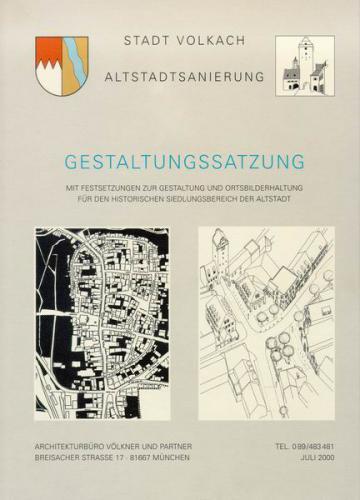 Gestaltungssatzung zur Erhaltung und Verbesserung des Stadtbildes