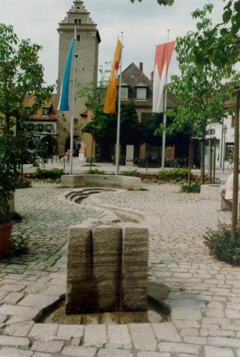 Oberer Markt mit Brunnen