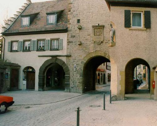 Oberer Markt mit Stadttor