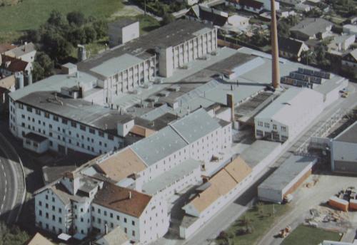 Museum Mitterteich Luftbild Porzellanfabrik 2008